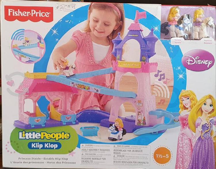 Fisher price little people klip klop princess stab