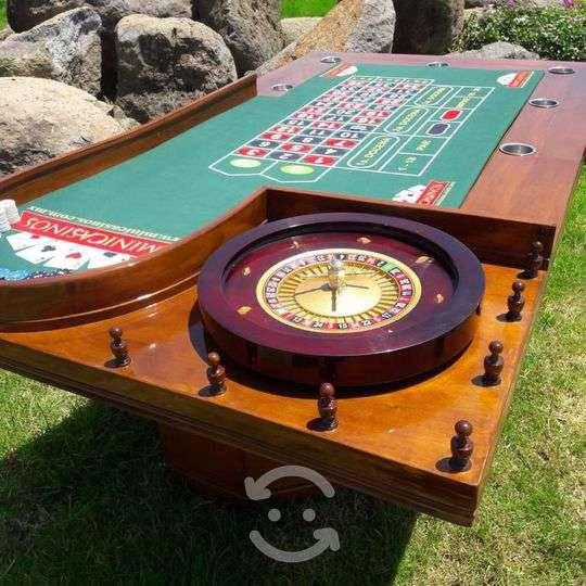 Mesas de casino profesional casa de campo, terraza