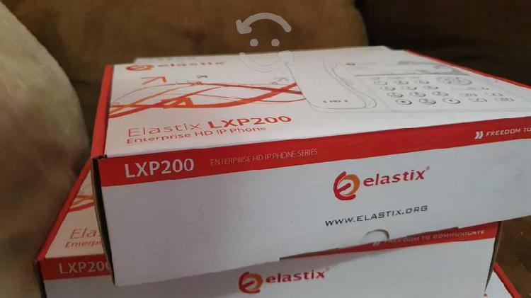 Remate de telefono ip poe elastix lxp200 nuevos