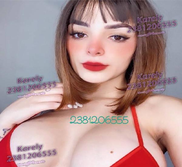 Karely hermosa escort ve mis fotos y compruebalo tu mismo