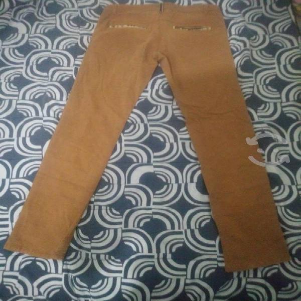 Pantalón jeans hombre super skinny talla 32