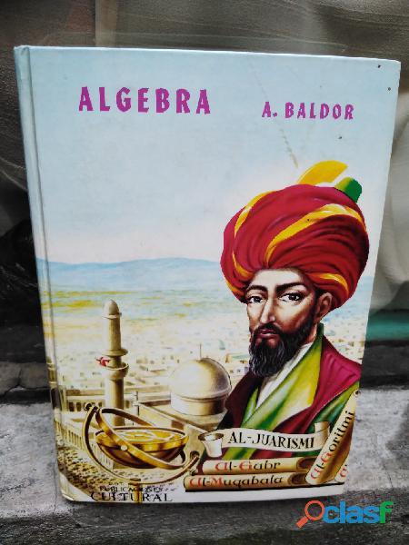 Libro algebra baldor