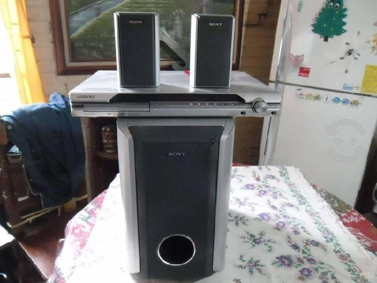 Amplificador ht sony de 850 watts con 3 bafles
