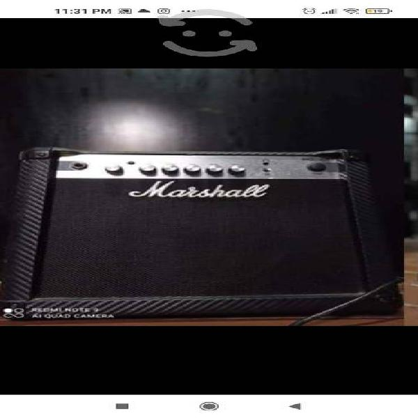 Amplificador marshall mg15cf de 40 w