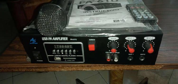 Amplificador Perifoneo, American Sound