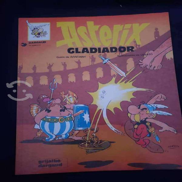Asterix gladiador comic