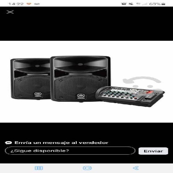 Audio yamaha stagepass400bt