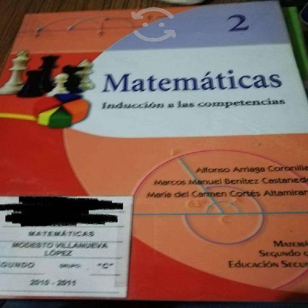 Kit libros de matemáticas nivel secundaria