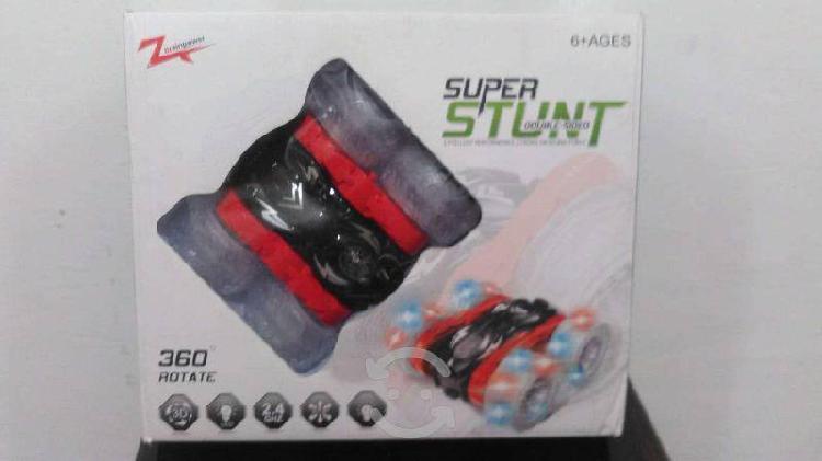 Carro de control remoto super stunt