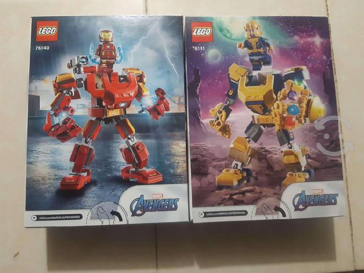 Llévate 2 sets de lego marvel ironman y thanos