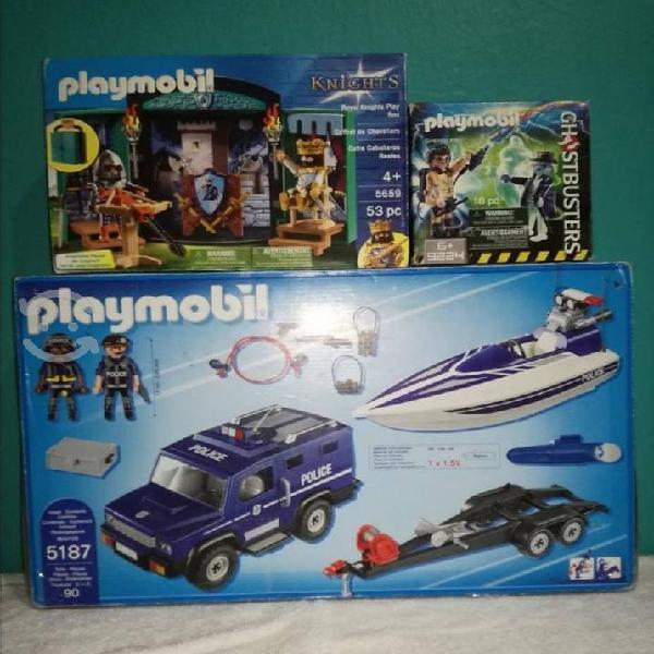 Playmobil, marvel legends, max steel y más