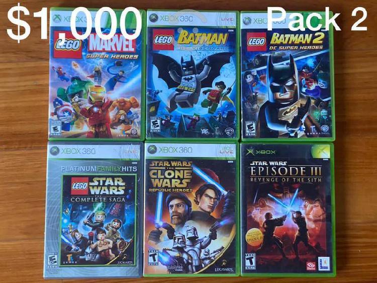 Venta juegos xbox 360 discos bien estado
