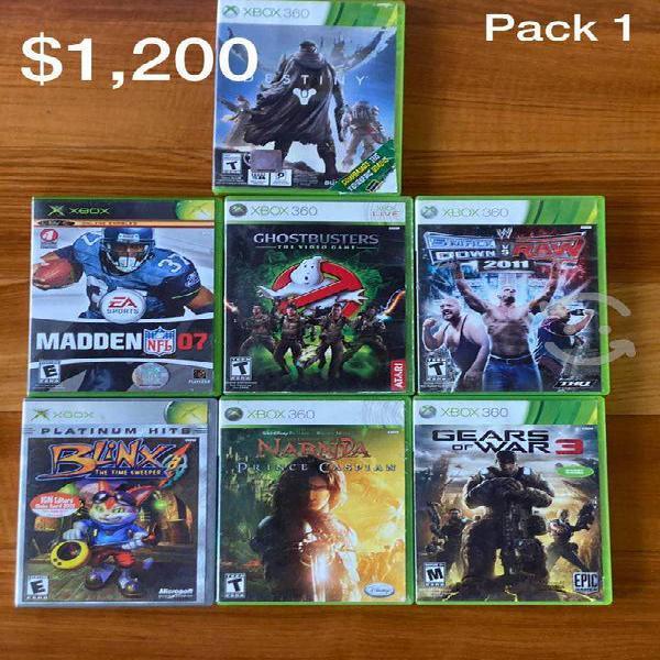 Venta juegos xbox 360 discos buen estado