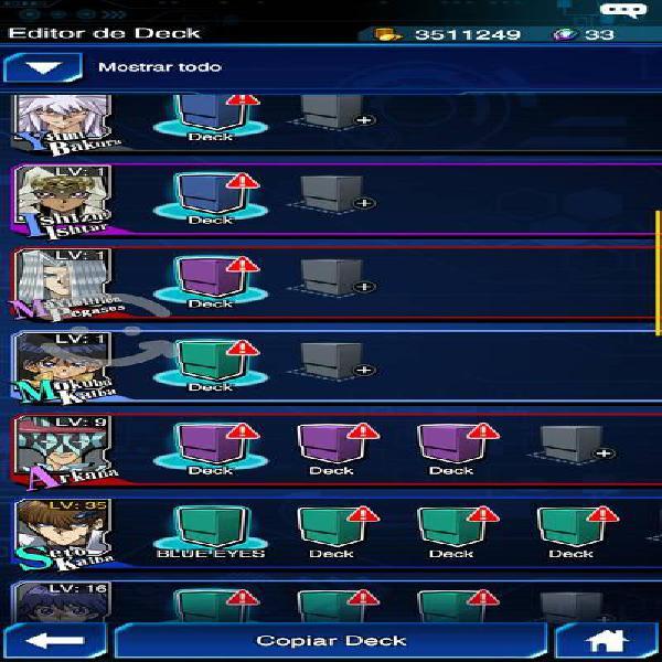 Yu gi oh duel links cuenta