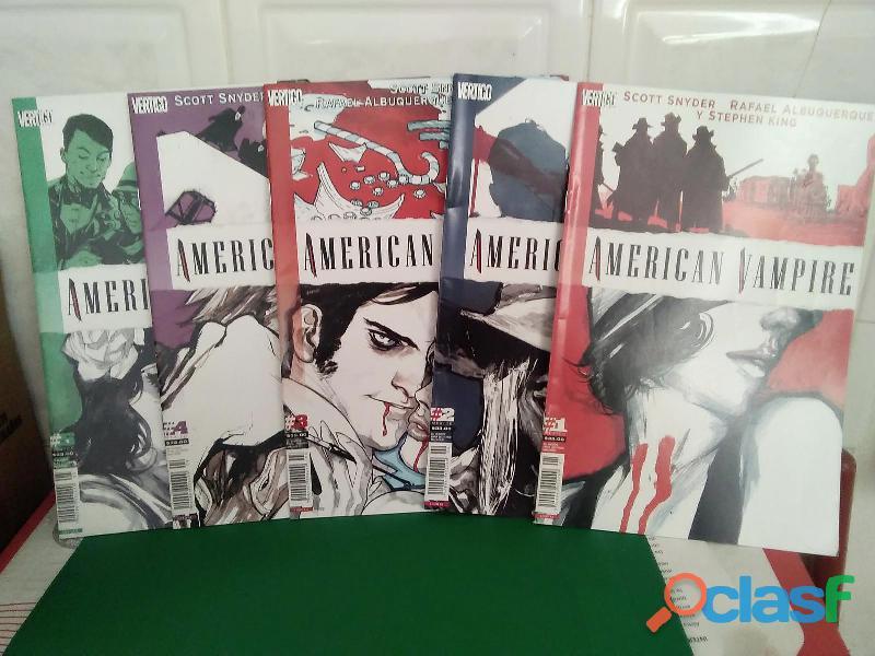Comics 100 bullets & american vampire