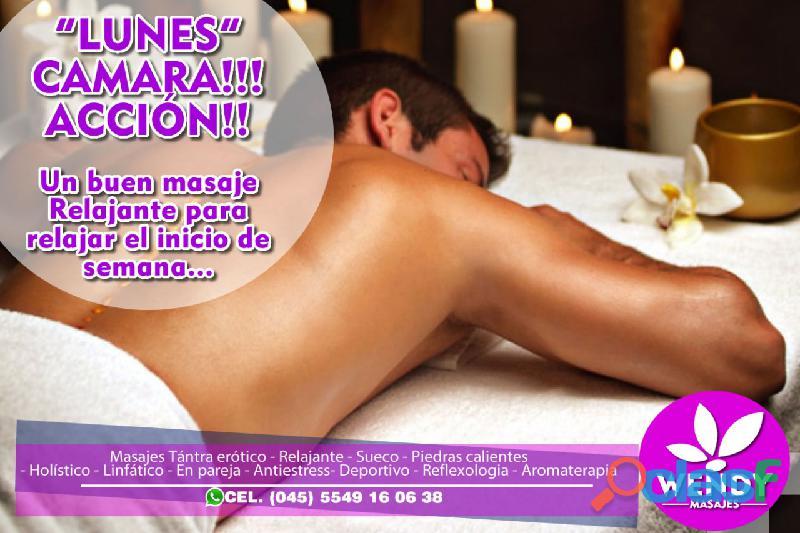 Masajista profesional ¡tu mejor experiencia! (masajes wendy) l21114