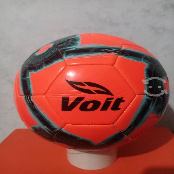 Balón de fútbol voit no.5 naranja nuevo original