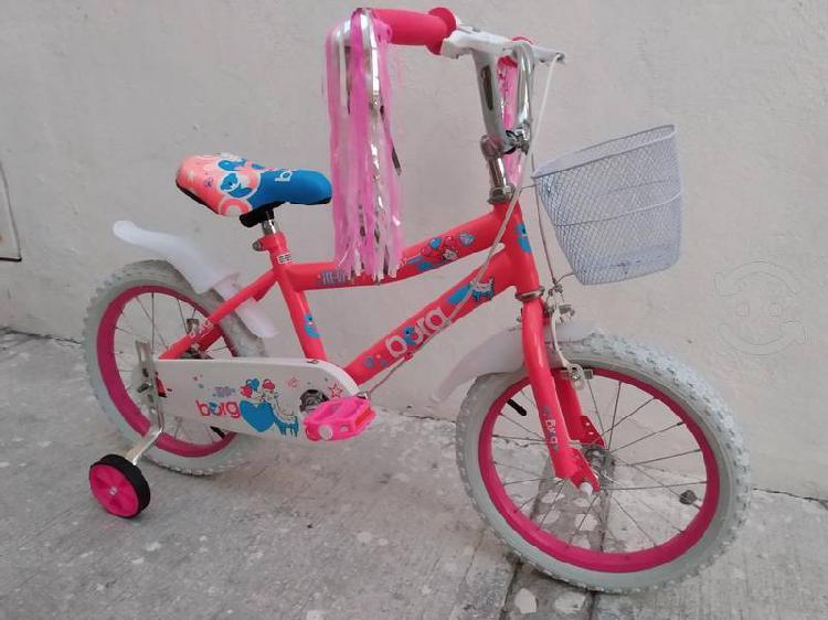 Bicicleta para niña seminueva