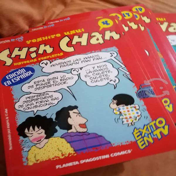 Comics de shin chan, edición en español, varios #s