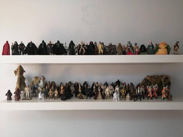 Figuras star wars, escala 3.75 colección 150 pz