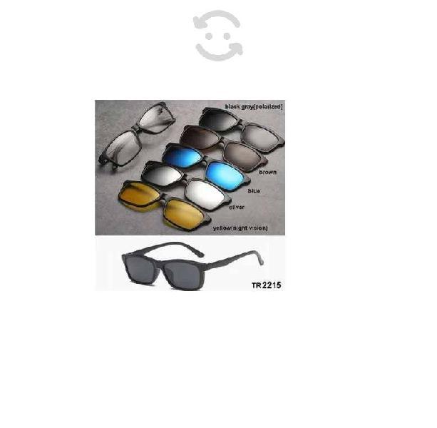 Gafas lentes sol hombre mujer mica intercambiable