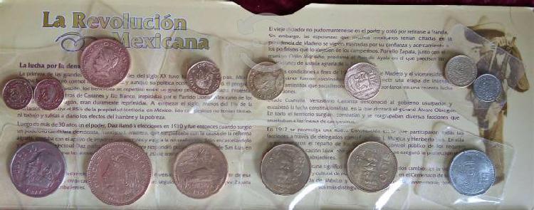 Lote de monedas antiguas de méxico.