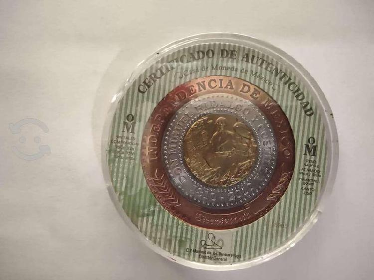 Moneda trimetálica bicentenario