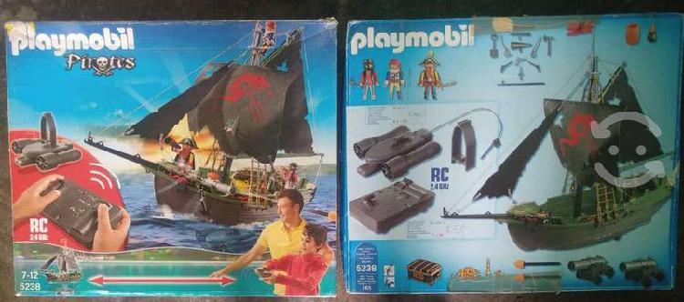 Playmobil rc barco pirata 5238 con motor submarino