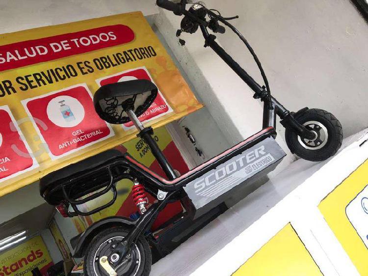 Scooter eléctrico patín con asiento 100% nuevo
