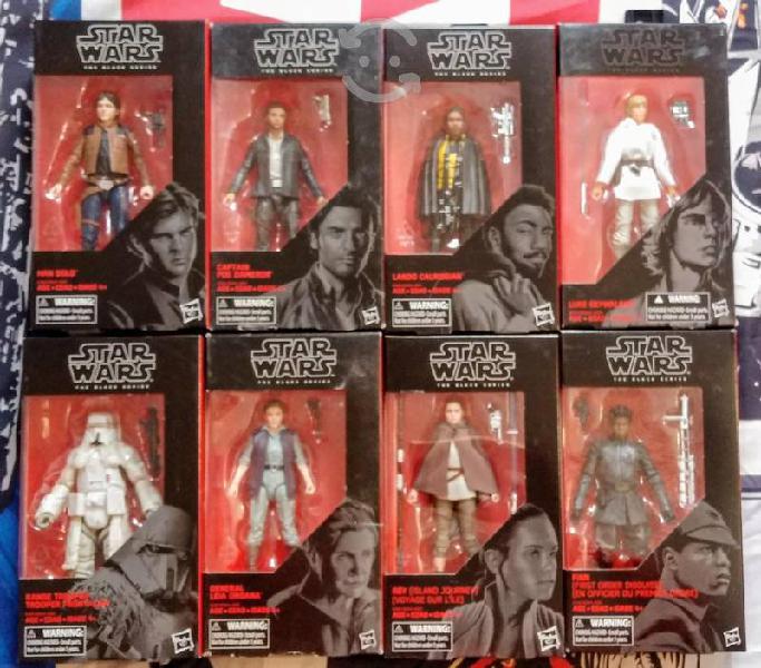 Star Wars The Black Series 8 Figuras de 6 pulgadas
