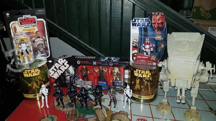 Star wars figuras y naves
