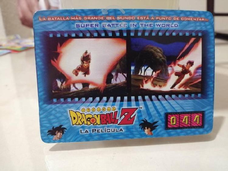 Tarjetas dragon ball z la película 1998