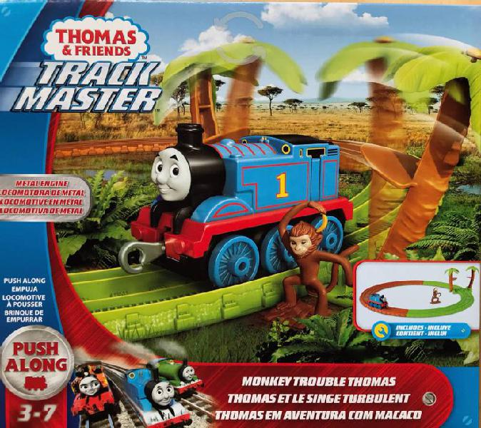 Thomas and friends, track master aventura con mono