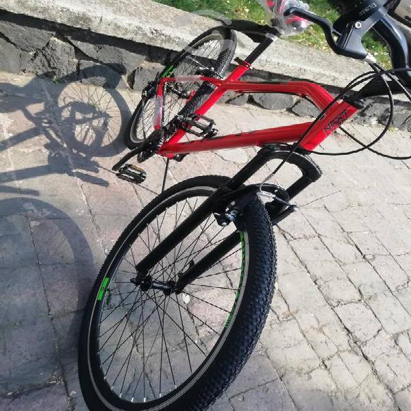 V/c bicicleta suspensión frontal 29