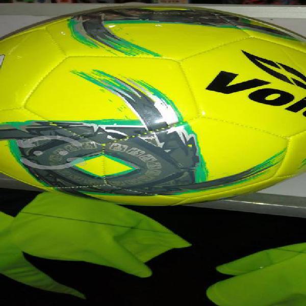 Balón fútbol voit lummo neón cosido a mano no. 5