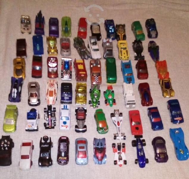 Lote de 60 carros hot wheels