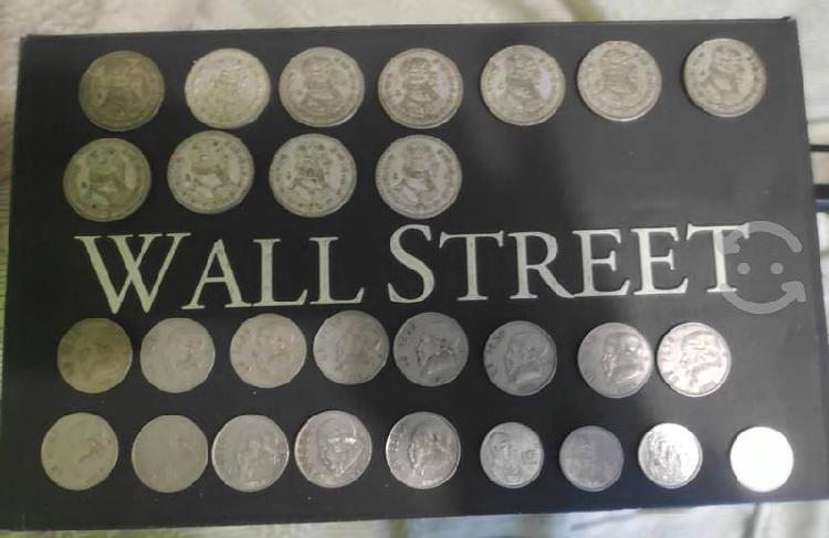 Monedas de un peso antiguas