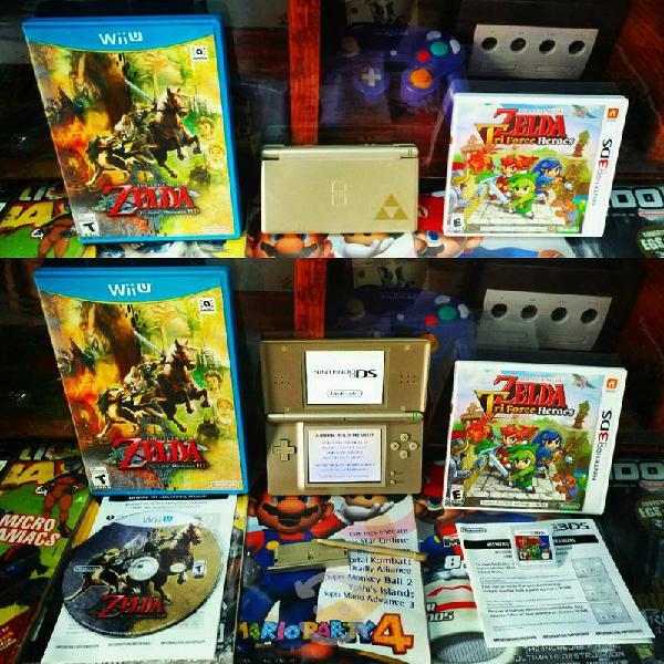 Nintendo ds lite zelda edition