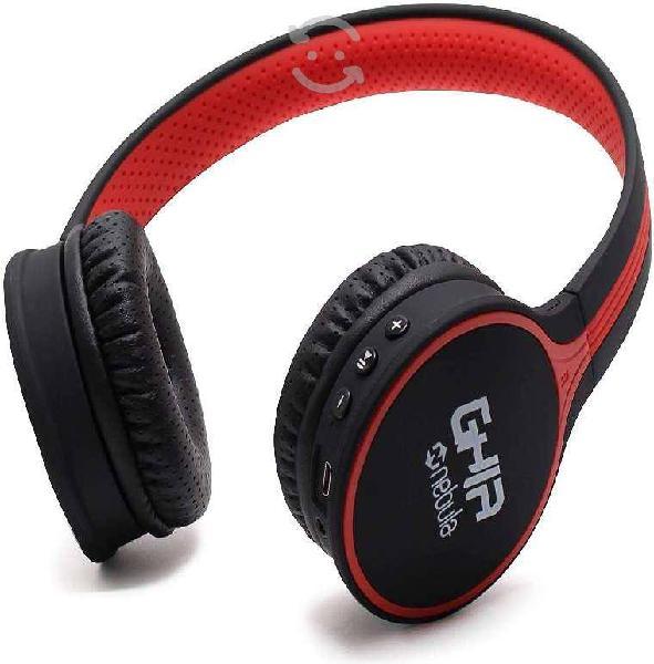 Audifonos diadema bluetooth ghia n1 hifi sound neg
