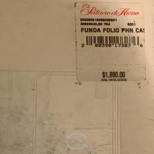 Funda cartera de piel michael kors original iphone