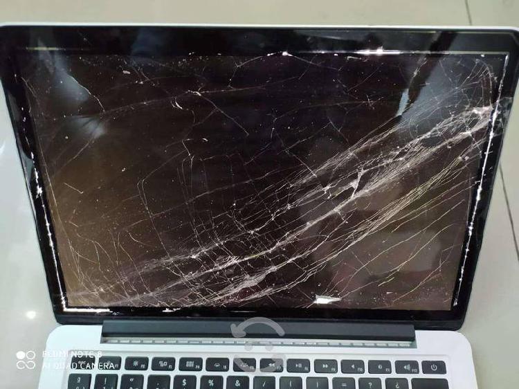 """Macbook pro 13"""" retina 2014 (pantalla estrellada)"""
