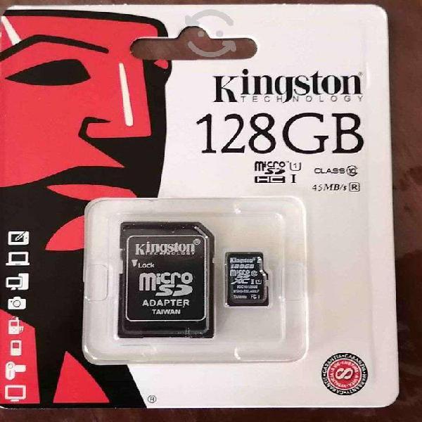 Micro sd 128 gb clase 10