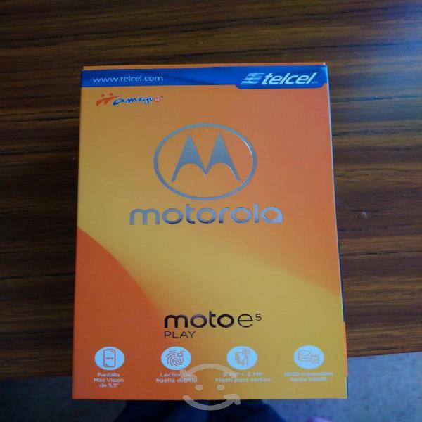 Motorola nuevo e5play desbloqueado