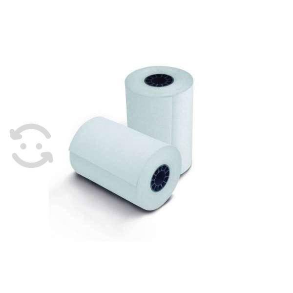 Paquete rollo papel termico 80x70 mm 10 piezas imp