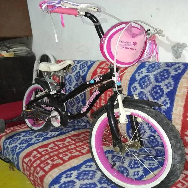 Bicicleta turbo little princes