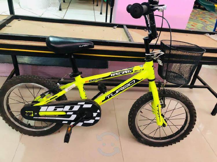 Bicicleta rodada 18