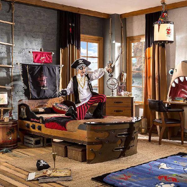 Cama cilek nueva modelo barco pirata