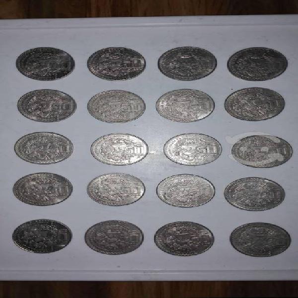 Colección monedas $50.00 coyolxauhqui
