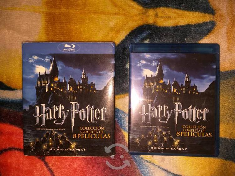 Harry potter saga completa blu ray