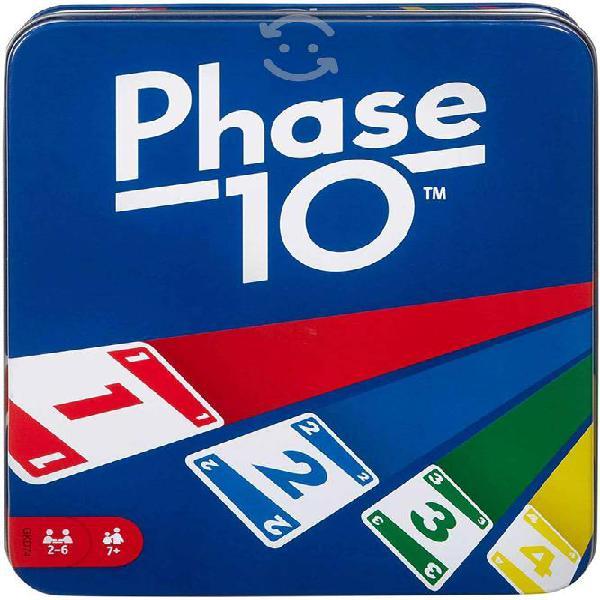 Juego de cartas mattel phase 10